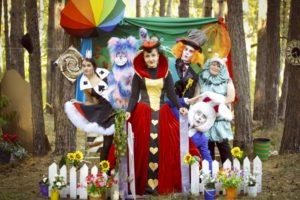 Квест Алиса в стране чудес