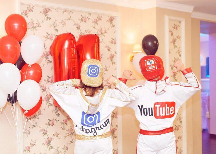 Youtube вечеринка
